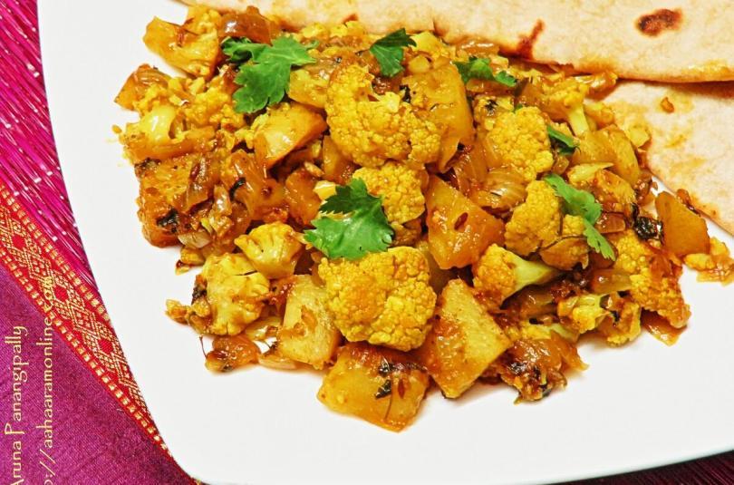 Punjabi Aloo Gobi – Cauliflower and Potato Curry