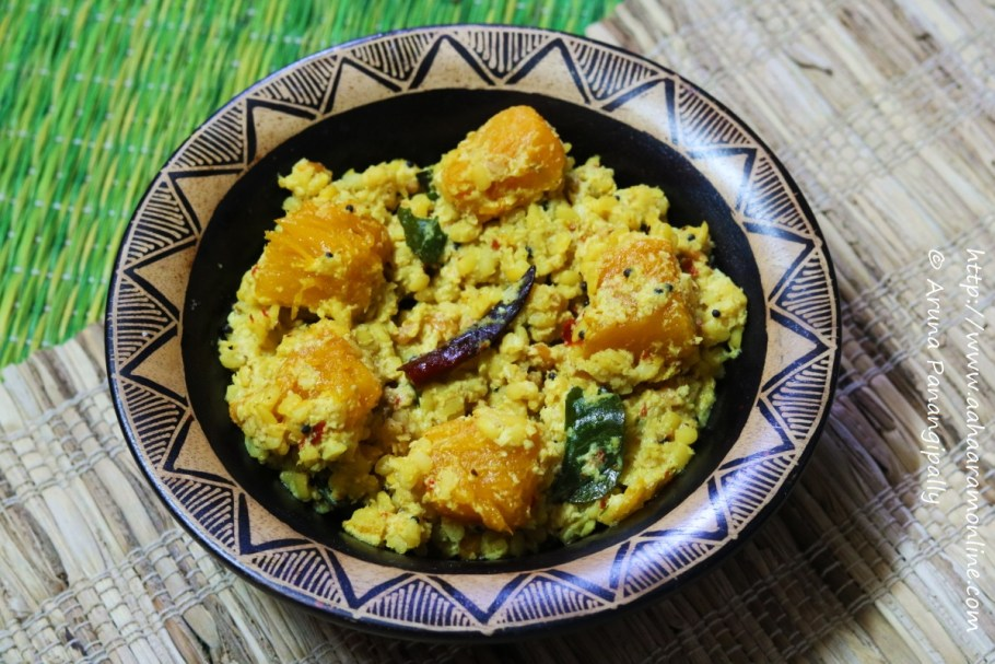 Andhra Red Pumpkin Curry