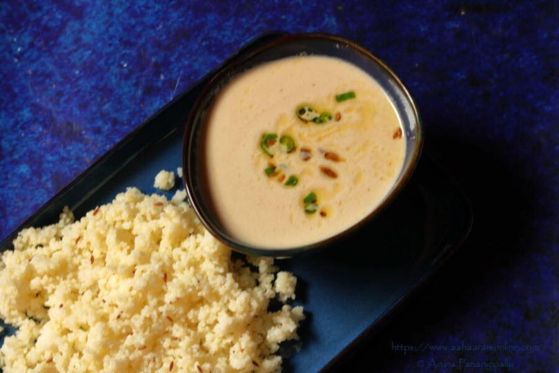 Danyachi Amti | Shengdanyachi Amti | Peanut Stew: Ashadi Ekadashi Special