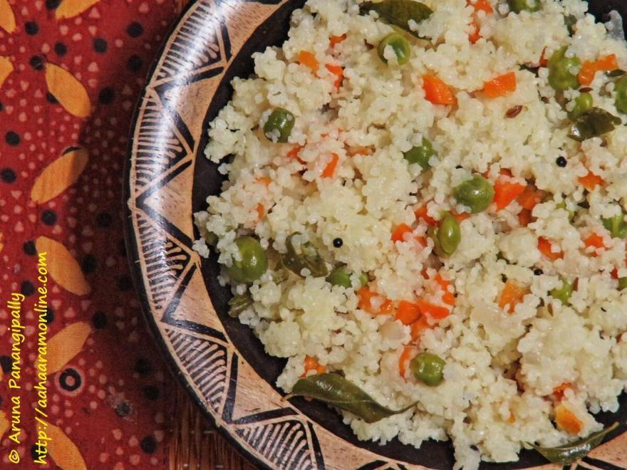 Samo Rice Upma, Samo Rice Pulav, Varai Pulav
