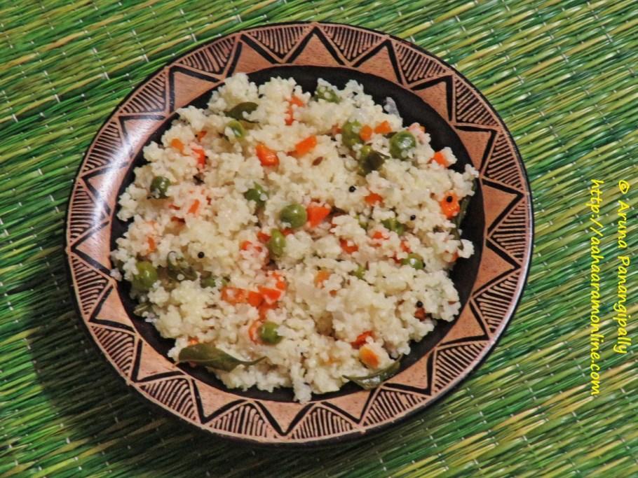 Varai Pulav | Samai Pulao | Samo Rice Upma