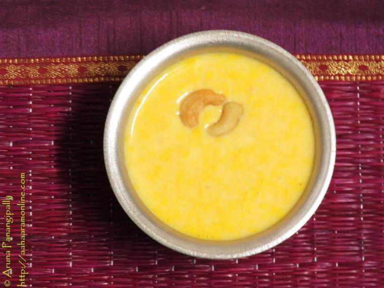 Carrot Payasam, Carrot Kheer, Gajar ki Kheer