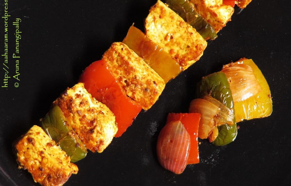 Paneer Tikka - Recipe by Chef Harpal Singh Sokhi