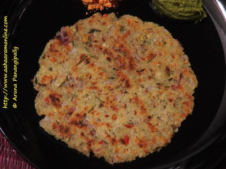 Karnataka Rava Rotti