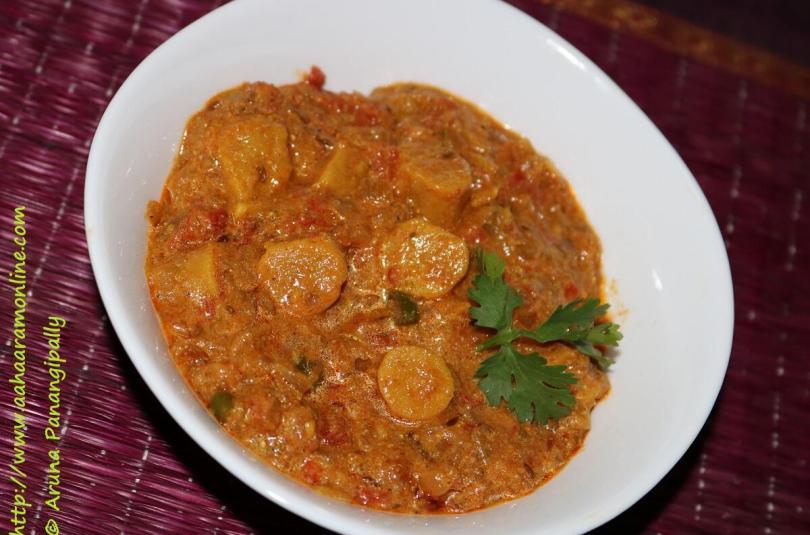 Rajasthani Gatte ki Subzi | Gatta Curry