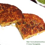Gujarati Handvo Made in a Pan