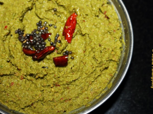 Beerakaya Thokku Pachadi | Beerakaya Pottu Pachadi is made with the peel of ridge gourd.