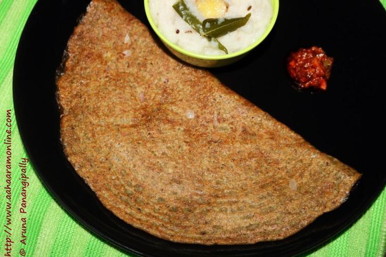 Andhra Pesarattu | Moong Dal Chilla