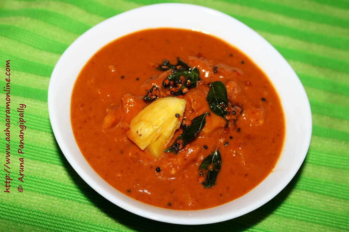 Pineapple Menaskai: Pineapple Curry from Mangalore