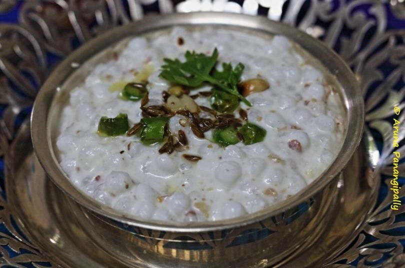 Dahi Sabudana | Upvas Recipe from Maharashtra