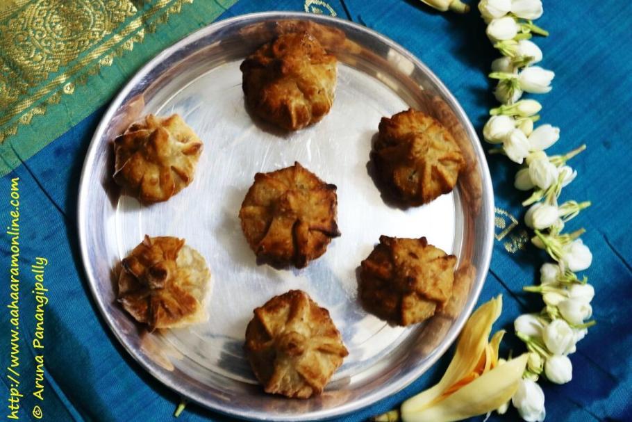 Fried Modak | Talniche Modak