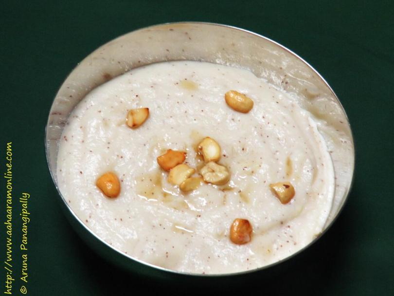 Timmanam | A Recipe for Atla Taddi
