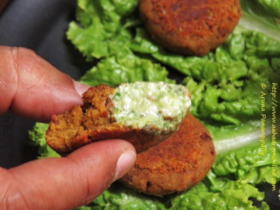 Vegetarian Galouti Kebab