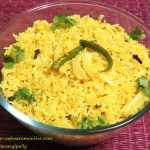 Hyderabadi Khichdi made with rice and masoor dal