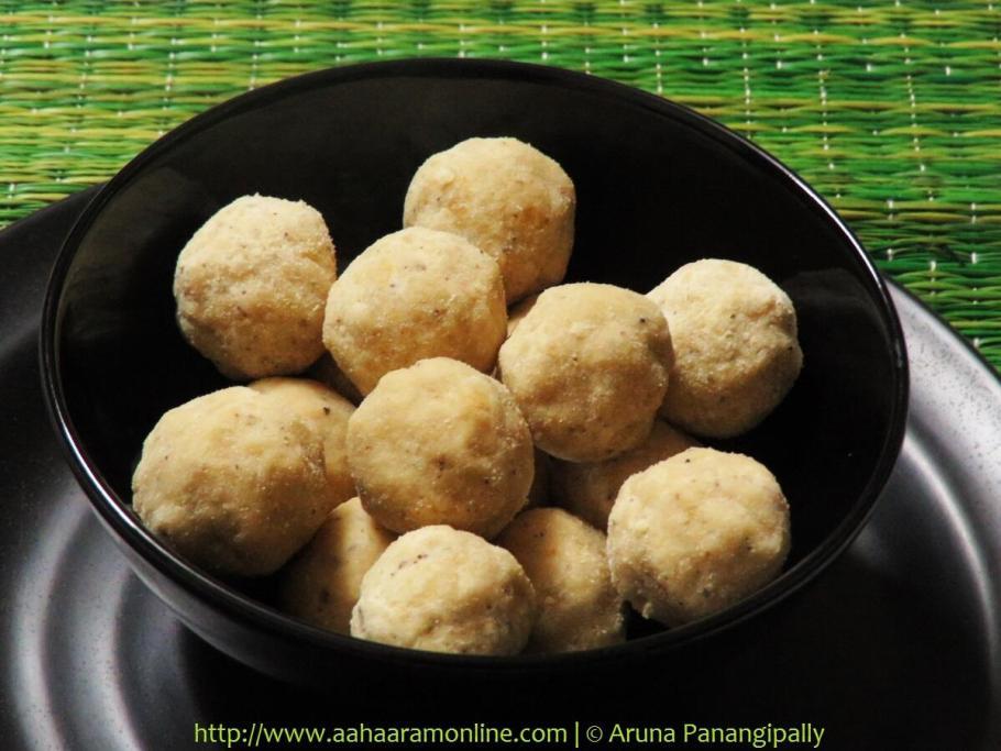 Kesa Mithoi | Assamese Rice Flour Laddu