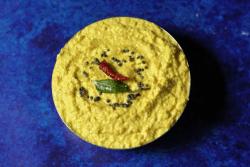 Nuvvula Mamidikaya Pachadi   Andhra Kairi Til Chutney   Mango Sesame Chutney