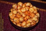 Roasted Phool Makhana | Roasted Foxnuts | Roasted Lotus Seeds spiced with chilli powder
