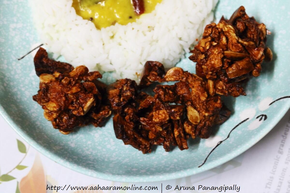 Andhra Budida Gummadikaya Vadiyalu | Sundried Ash Gourd Fryums