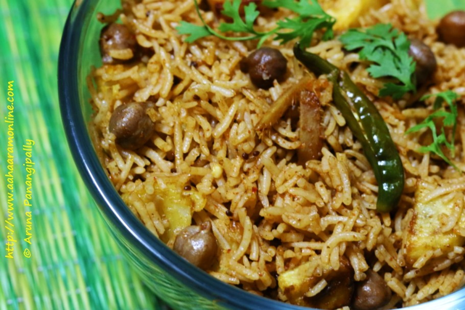 Spicy Chole Biryani | The Perfect One Dish Meal