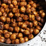Crunchy Baked Chickpeas