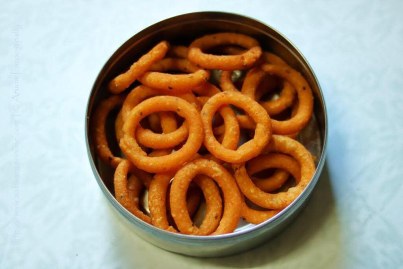Andhra Chegodi   Ring Murukku