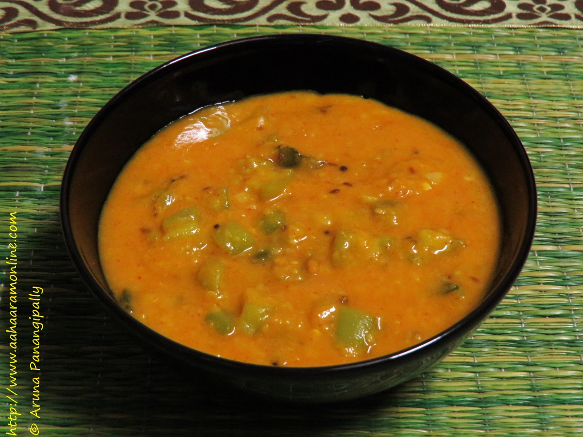 Andhra Beerakaya Pappu | Turai ki Dal