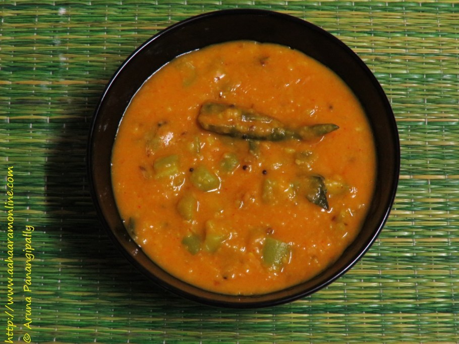 Beerakaya Pappu | Peerangai Paruppu | Turai ki Dal