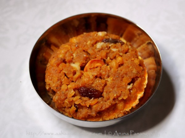Hayagriva Maddi, a Chana Dal Halwa from the Mangalore-Udupi region of Karnataka