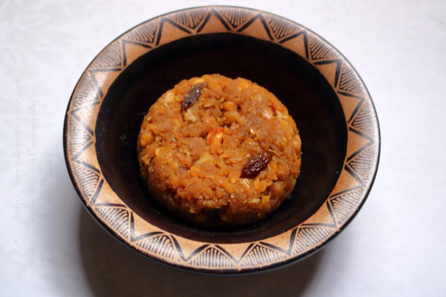 Udupi Chana Dal Halwa   Hayagreeva Maddi