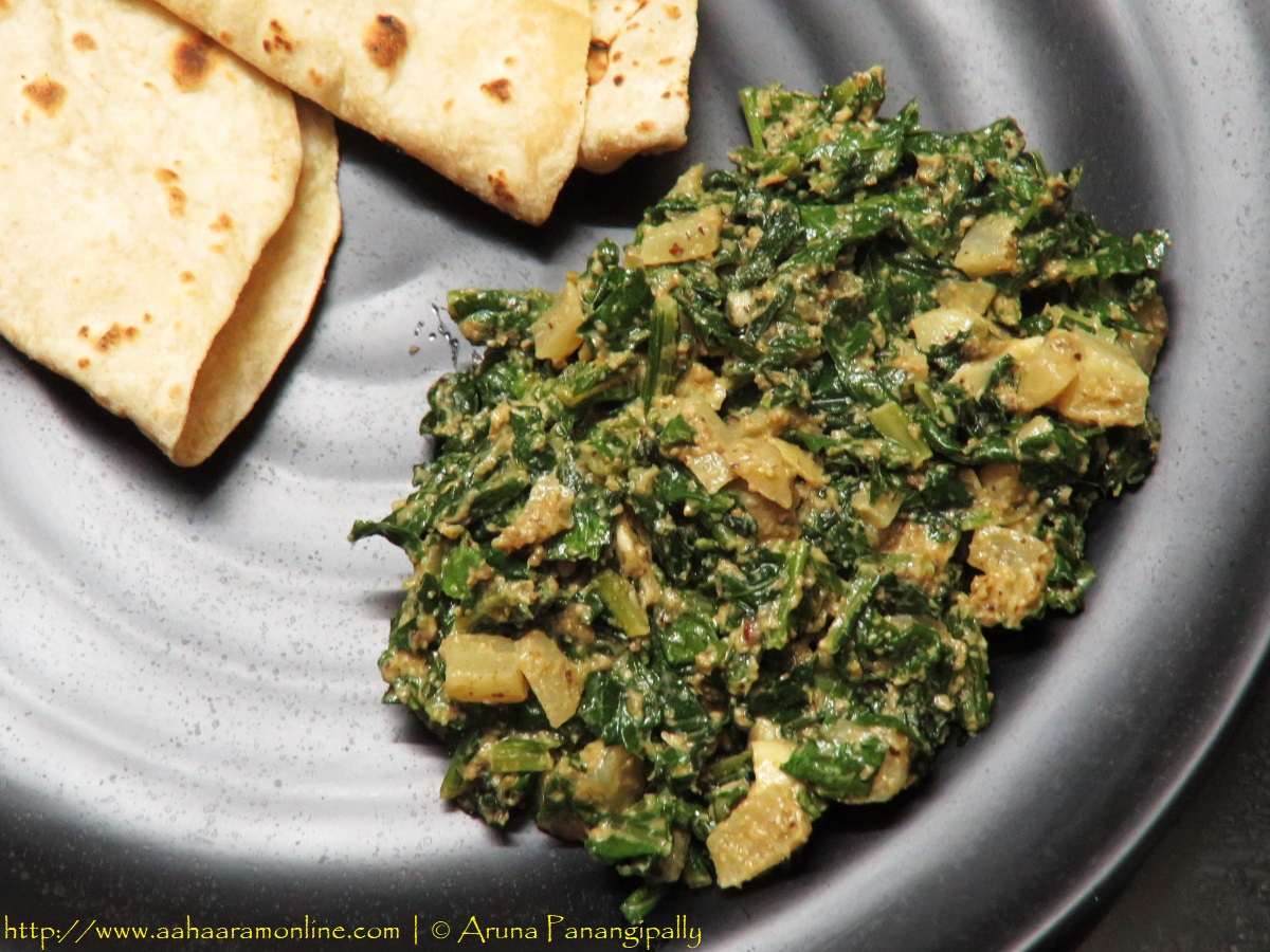 Radish Leaves Stir Fry | Mooli ke Patte ki Sabzi