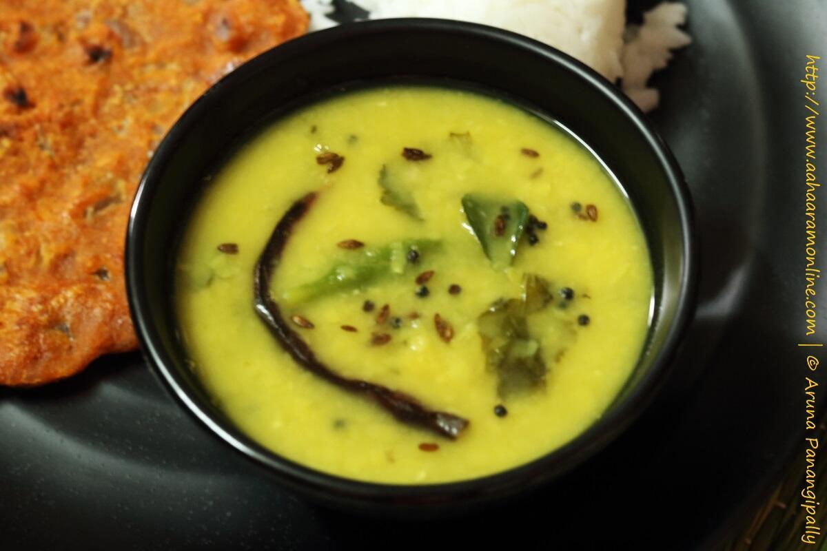 Dalithoy | A simple Dal from Konkani Cuisine
