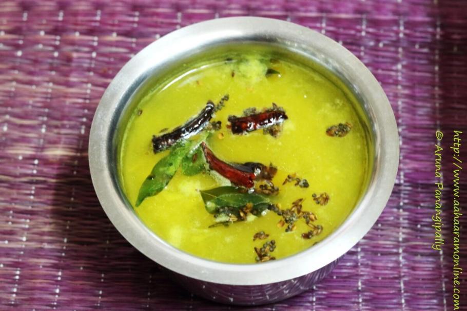 Mammidikaya Charu | Raw Mango Rasam