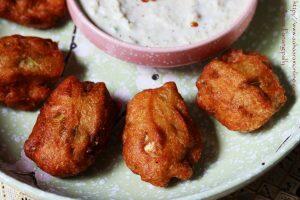 Gummadikaya Pachi Vadiyalu   Andhra Medu Vada with Ash Gourd