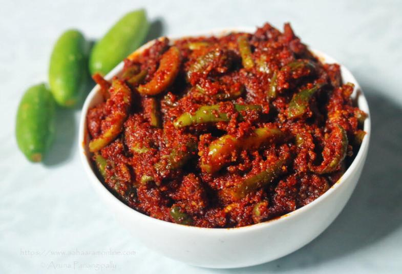 Dondakaya Avakaya | Andhra Ivy Gourd Pickle