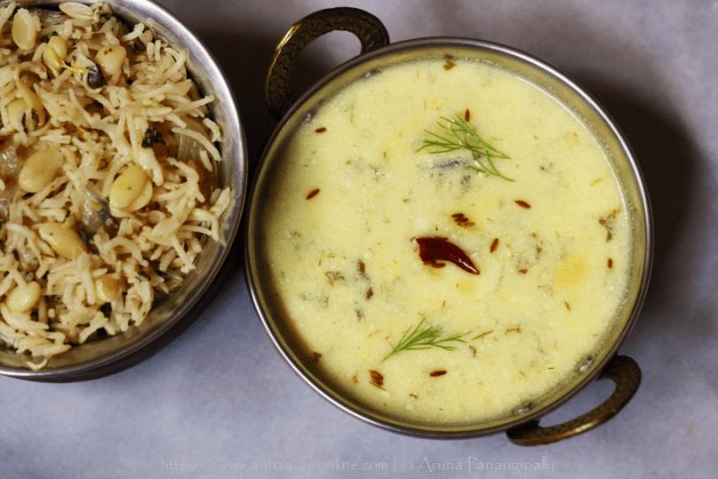 Gujarati Suva Kadhi | Shepuchi Kadhi | Dill Kadhi