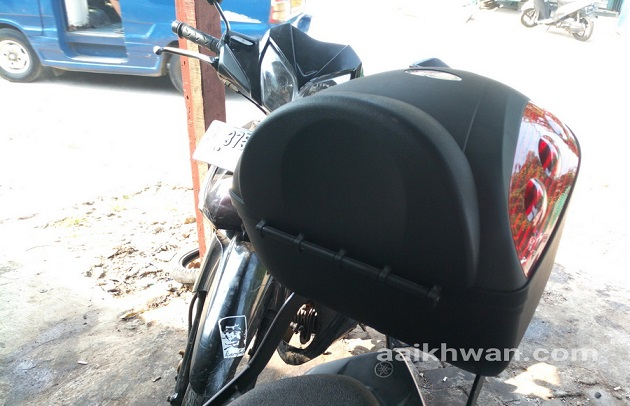 Pasang Box di Yamaha Force Fi