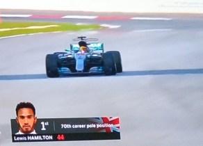 Hasil Kualifikasi F1 Malaysia 2017, Hamilton Terdepan Disusul Raikkonen dan Verstappen