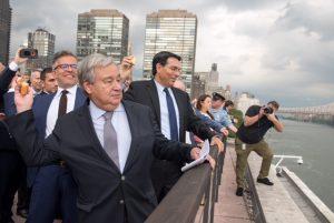 معتمد اقوام متحدہ نیو یارک میں بے امنی پر شکستہ دل