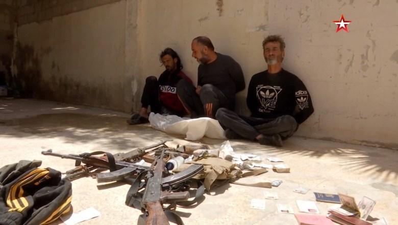 امریکی جاسوس شام میں،روسی ، ایرانی اور شامی عسکری کیمپوں کی جاسوسی کرتے پکڑے گئے