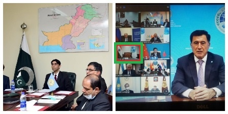 شنگھائی تعاون تنظیم اجلاس میں پاکستانی نقشے کی نمائش: اجیت دیول تلملا اٹھا، اجلاس سے فرار