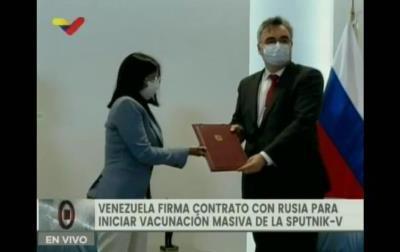 وینزویلا کا روس سے 1کروڑ ویکسین لینے کا معاہدہ طے