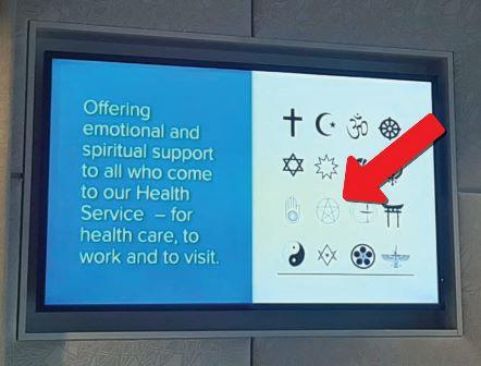 آسٹریلیا میں شیطانیت بطور مذہب قبولیت کے قریب: اسپتالوں میں شیطانی علامت  نصب