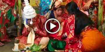 বিদায় বেলায় বউয়ের কান্না দেখে হাউ মাউ করে কেঁ'দে ফেলল নতুন বর, নেটদুনিয়ায় ভাইরাল ভিডিও