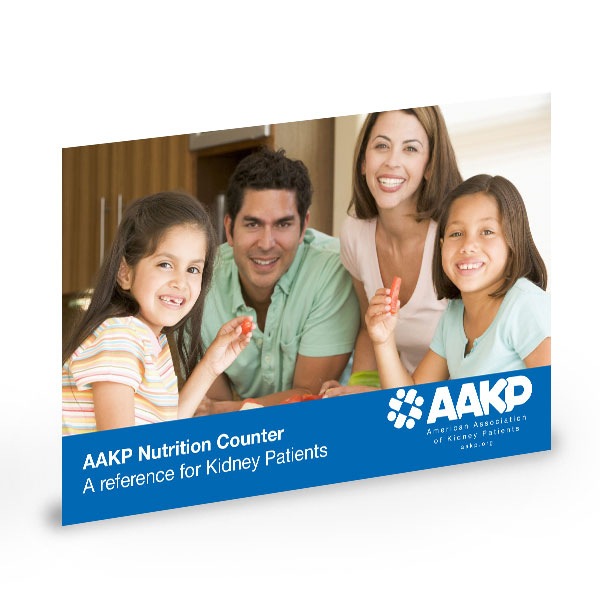 (DOWNLOAD) AAKP Nutrition Counter: A Reference For The Kidney Patient – Electronic Download