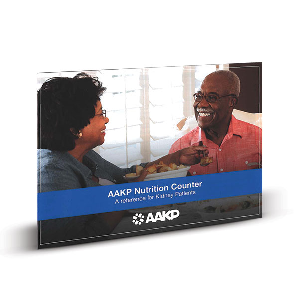 AAKP Nutrition Counter: A Reference For The Kidney Patient(English)