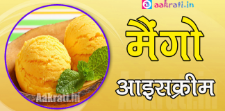 Mango Ice Cream Recipe In Hindi