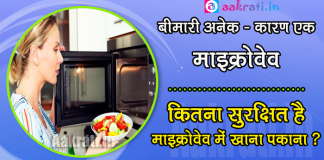 Microwave Cooking is Harmful for Health