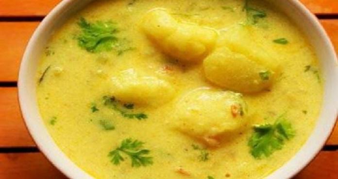 Dahi Aloo Sabzi Recipe