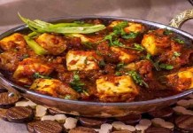 Jodhpuri Mirch Paneer Recipe