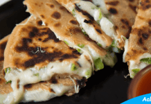 Cheese Chilli Paratha Recipe